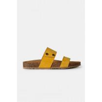Re:Designed sandal  i Suede Gul