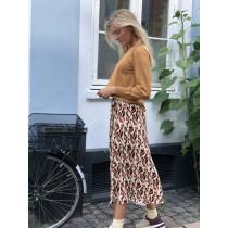 Saint Tropez lang nederdel i dyreprint