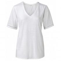 YAYA bluse i hvid.