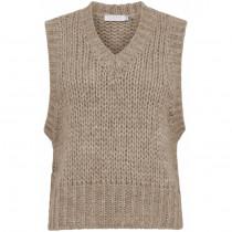 Coster sand alpaca vest