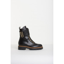 Bukela sort støvle i det rå look