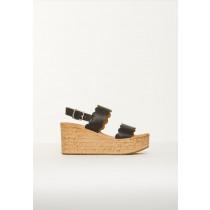 Bukela plateua sandal i sort