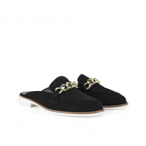Dixie mørkeblå loafers