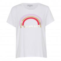 Continue hvid t-shirt