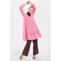 Denim Hunter pink kjole