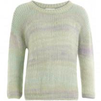 Coster Copenhagen mohair sweater i grønne farver