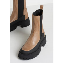 BUKELA sand skind støvle