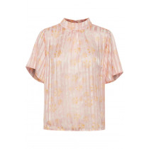 Saint Tropez bluse i smukke rosa farver.