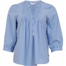 COSTER klassisk stribet lyseblå skjorte