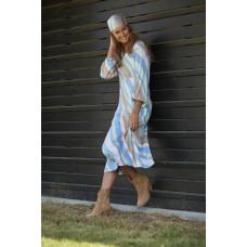 Costamani kjole i blå farver