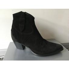 Bukela kort western støvle i sort