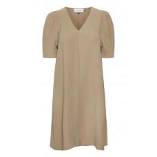 Denim Hunter sandfarvet kjole