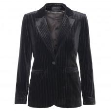 Caddis Fly sort velour blazer