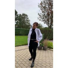 Costamani jersey bukser i sorte med masser stræk