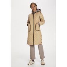 Saint Tropez lys jakke med hætte