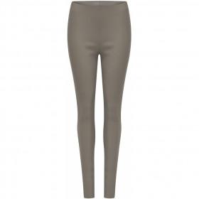 COSTER fake leggings i farven sand/grå