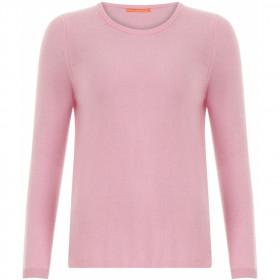 COSTER kashmir pullover i støvet rosa