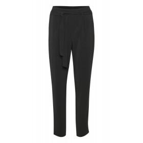 Saint Tropez sorte bukser med elastik i ryggen.